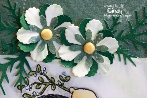 Weihnachtskarte – Tilda under Mistletoe 2