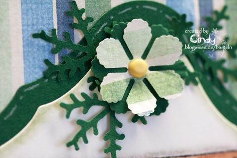Weihnachtskarte - Unwrapped Tilda am Kamin 3
