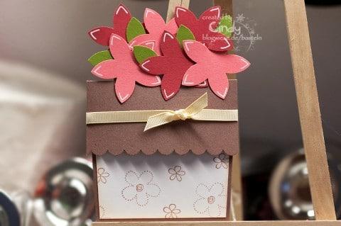 Blumentopfkarte