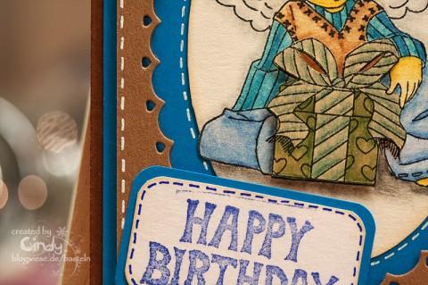 Geburtstagskarte für Männer
