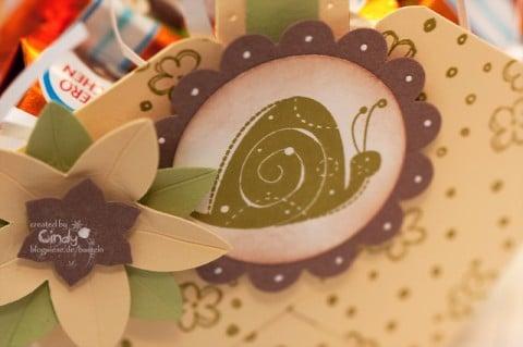 Osterkörbchen - wunderlicher Garten - Snail