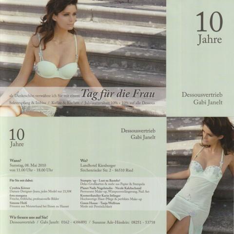 Flyer - Tag für die Frau
