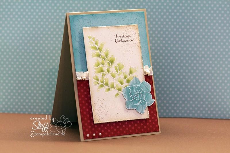 Geburtstagskarte embosst 1