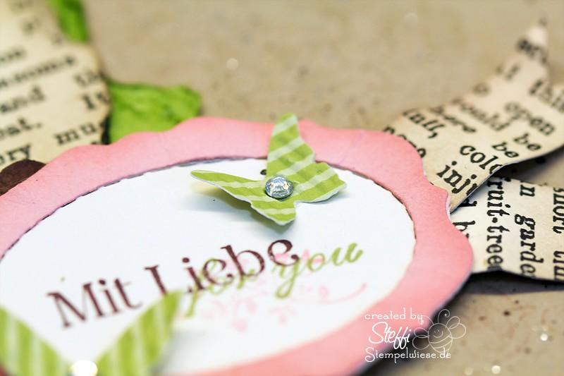 Mit Liebe - Grußkarte 3