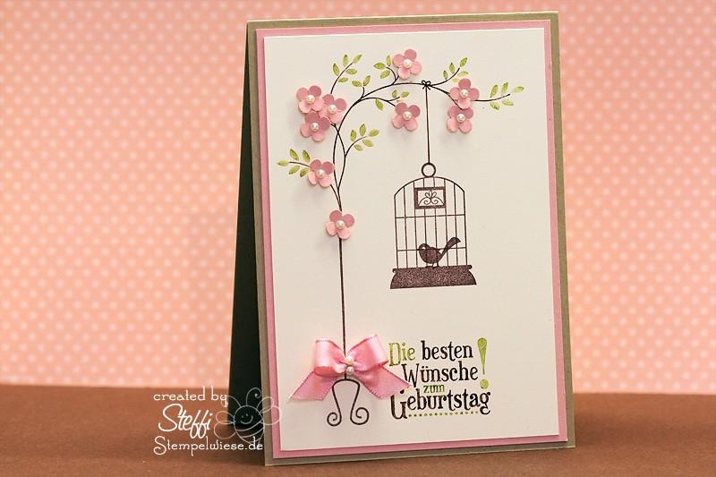 Geburtstagskarte für Vogelliebhaberin 1