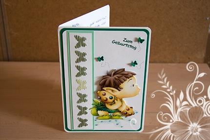 Geburtstagskarte - Reflecta - Torehead