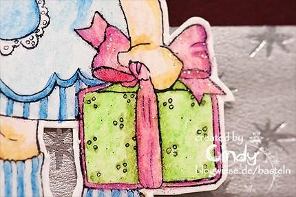 Weihnachtskarte - Magnolia - Chistmas Party Tilda - Geschenk small