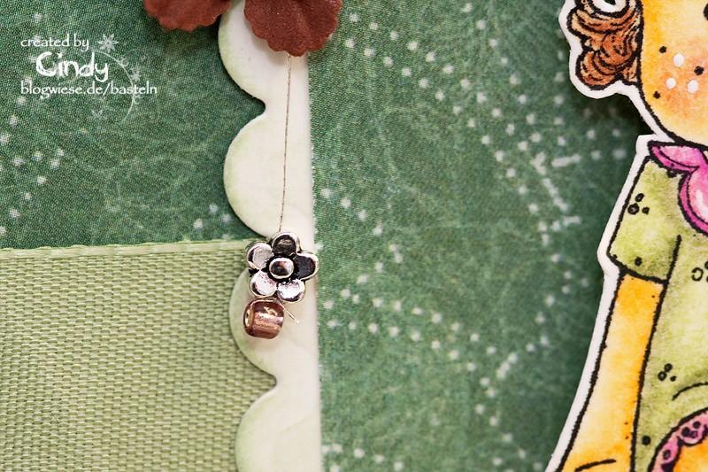 Geburtstagskarte - Easel Card - Berry Tilda 3