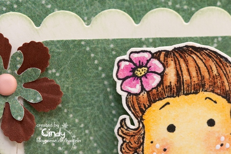 Geburtstagskarte - Easel Card - Berry Tilda 2