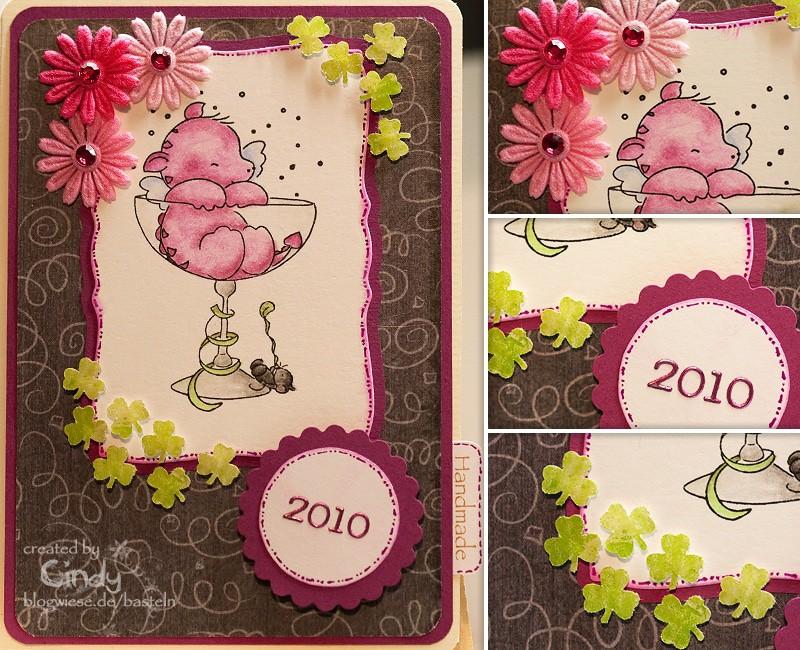 Silvesterkarte - Smookie 1