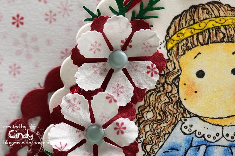 Weihnachtskarte - Christmas Morning Tilda 2