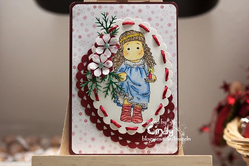 Weihnachtskarte - Christmas Morning Tilda 1