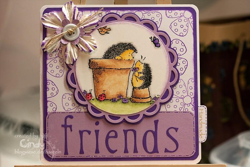 Freundekarte - Penny Black 1