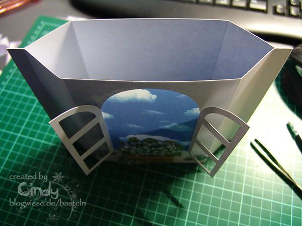 Tutorial - Lichterkarte mit Teelicht 8