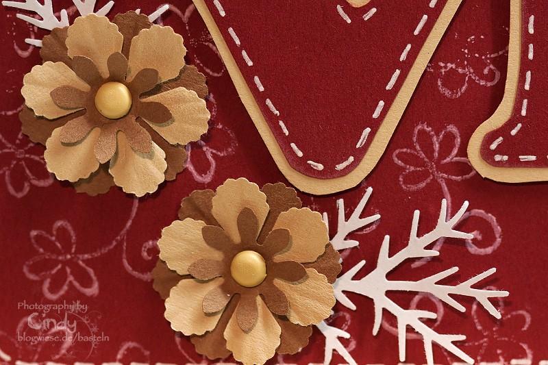 Valentinskarte - LOVE - Flower