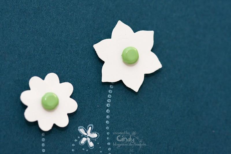Grußkarte - Flower