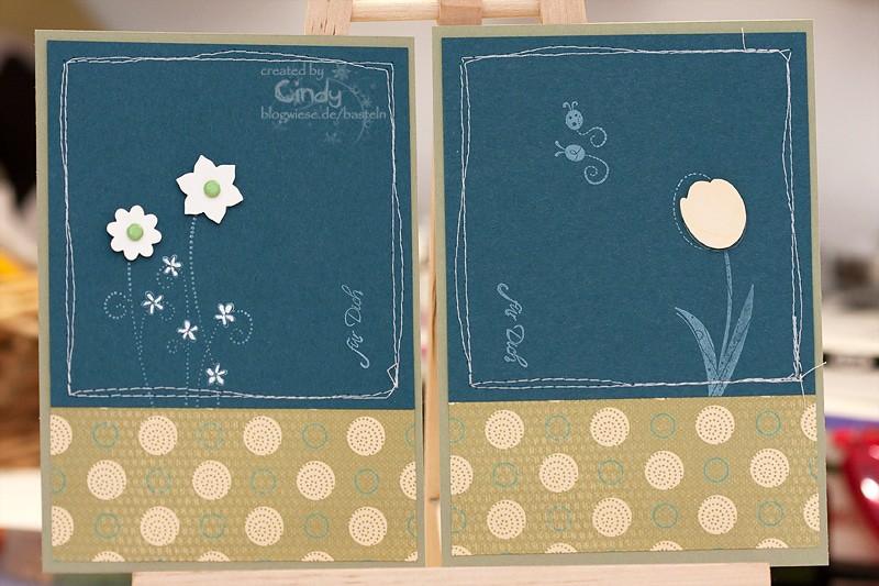 Grußkarte - Simply Said - Wunderlicher Garten - Design Stampin' Up! Papier