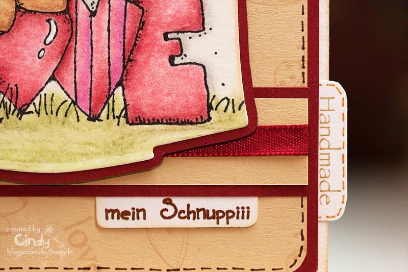 Valentinskarte - Whipper Snapper Design - Kosename