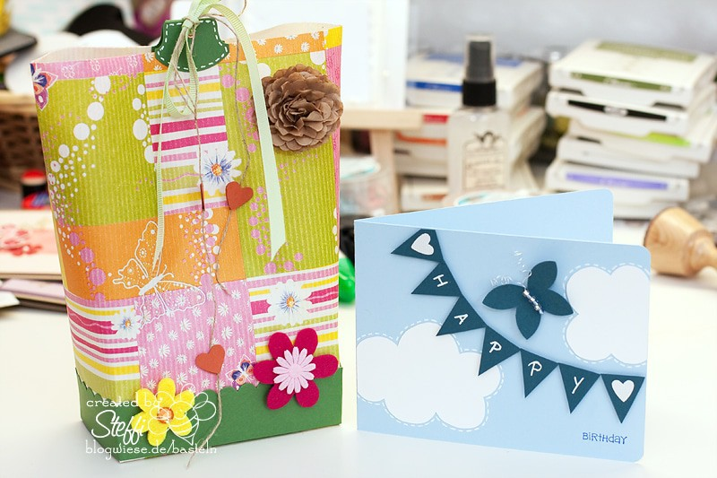 Geburtstagskarte mit Box in a Bag