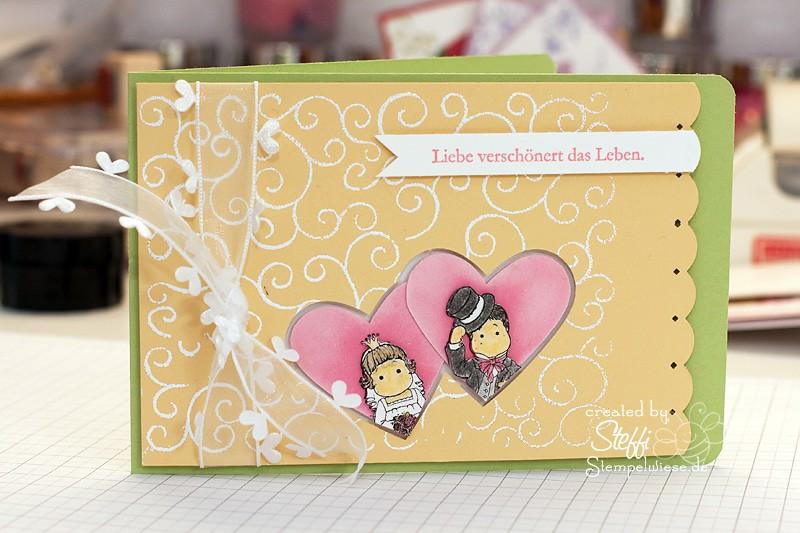 Hochzeitskarte - Tilda & Edwin