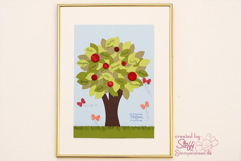 Heimdeko - Liebesbaum