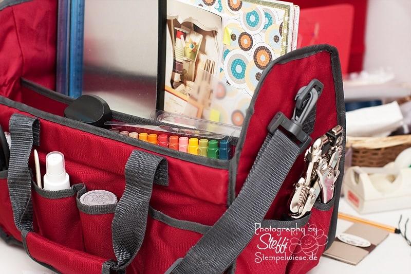 Werkzeugtasche von Tschibo - Vorn