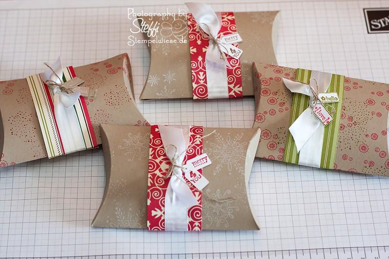 Pillow Box von den Teilnehmern