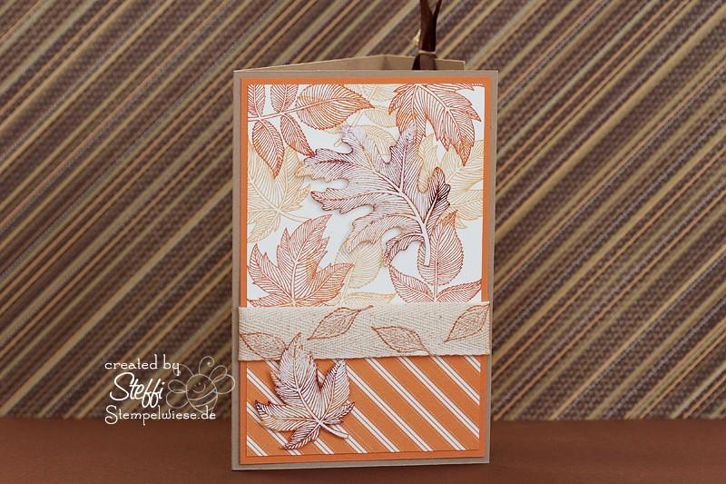 Geburtstagskarte - Herbstlich 1