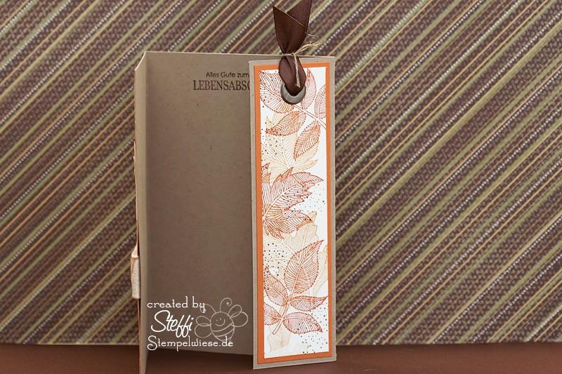 Geburtstagskarte - Herbstlich 2
