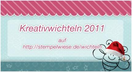 Hinweis zum Kreativwichteln 2011 1
