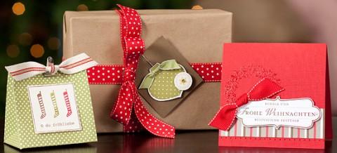 Perfektes Päckchen für Weihnachten + Band gratis 1