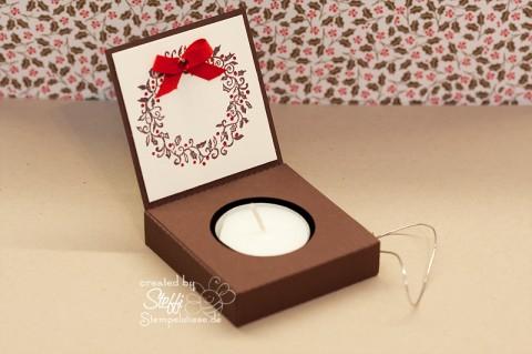 Teelicht Box - Schachtel mit Craft Robo 3
