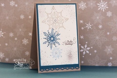 Weihnachtskarte - Frohe Festtage 1