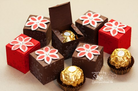 Tutorial - Ferrero Rocher schick verpackt 1