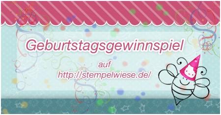 2 Jahre Stempelwiese - BDay Candy Gewinnspiel 1