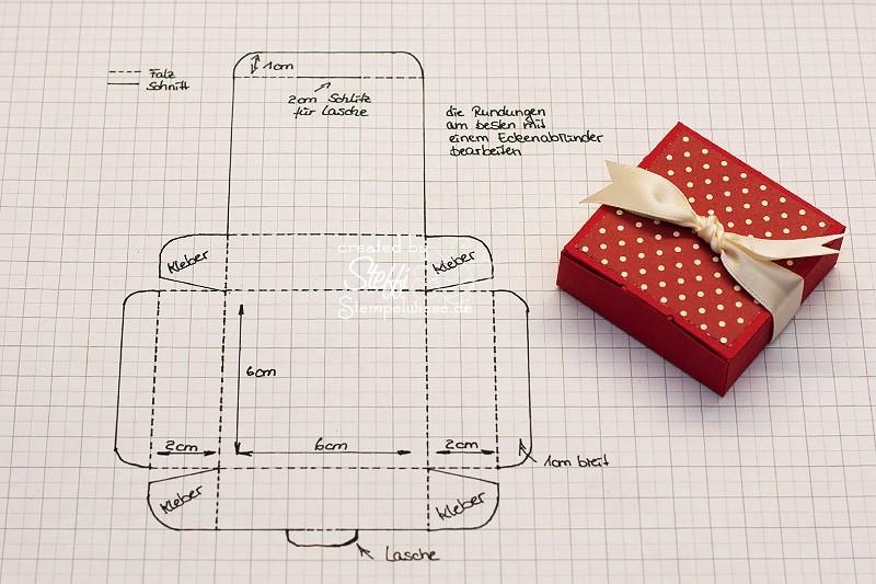 Tutorial - Schachtel für Ritter Sport Mini 2
