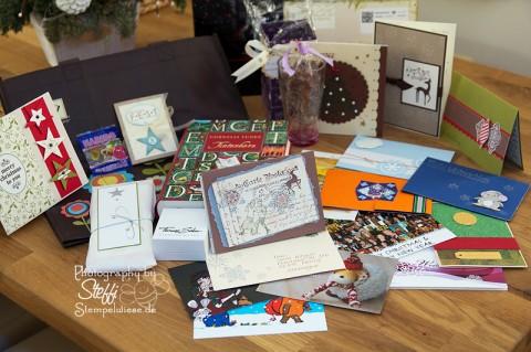 Weihnachtspost und der Inhalt der Pakete 1