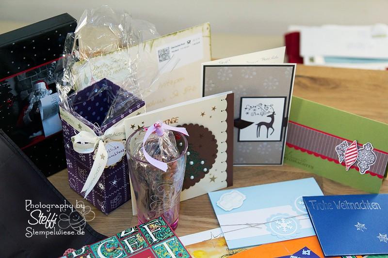 Weihnachtspost und der Inhalt der Pakete 3