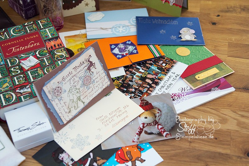 Weihnachtspost und der Inhalt der Pakete 4