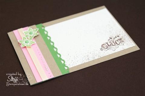 Glück - Einsteckkarte 1
