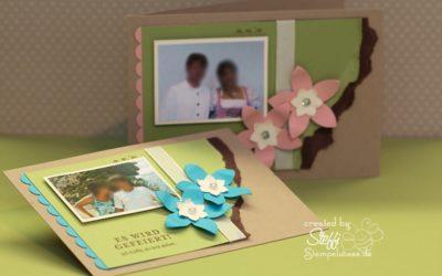 Einladungskarte zur Hochzeitsfeier