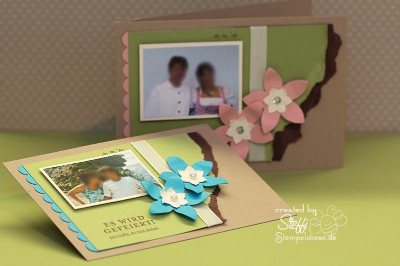 Einladungskarte zur Hochzeitsfeier 1