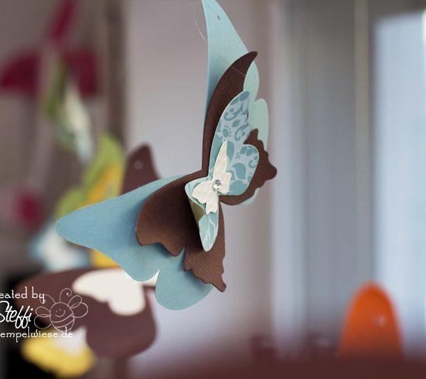 Deko am Fenster mit zauberhaften Schmetterlingen 4