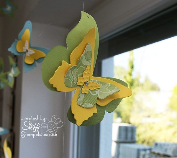 Deko am Fenster mit zauberhaften Schmetterlingen 5