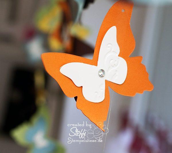 Deko am Fenster mit zauberhaften Schmetterlingen 6