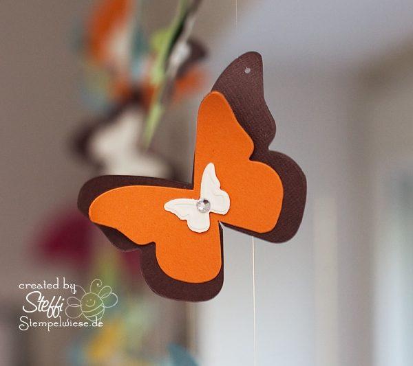 Deko am Fenster mit zauberhaften Schmetterlingen 8