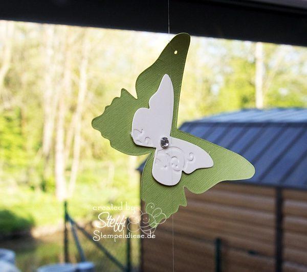 Deko am Fenster mit zauberhaften Schmetterlingen 10