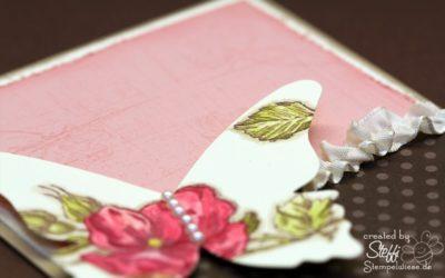 Grußkarte – zauberhafte Schmetterlinge