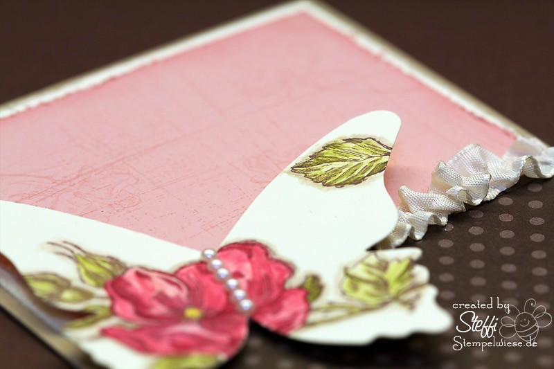 Grußkarte - zauberhafte Schmetterlinge 2