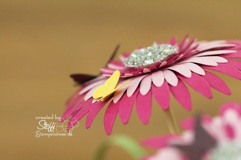 Ein Strauss Blumen mit der Big Shot 3